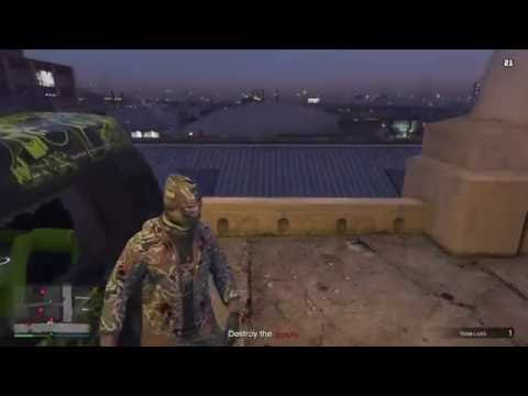 (GTA 5 Online) Artificial Scarcity Solo (Hard Difficulty )