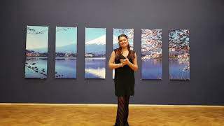Видеоуроки по базе танца живота от Лейлы Адоры. Урок 15