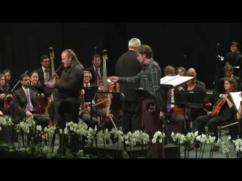 Evgeny Nikitin As Don Pizarro -- Beethoven, Fidelio