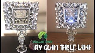 DOLLAR TREE DIY GLAM LAMP , Dollar Tree Home Decor 2019