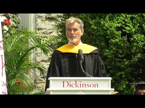 Pierce Brosnan 2019 Commencement Speech at Dickinson College