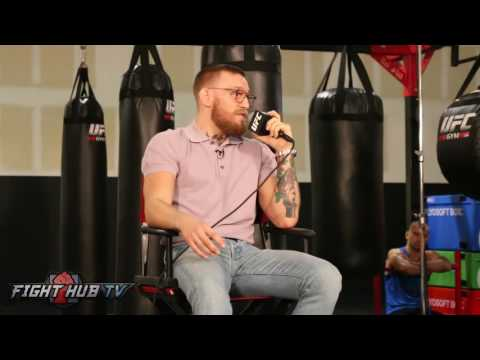 """Conor McGregor """"He was like Homer Simpson, He's gonna take the shots & hope I cant hit him no more"""""""