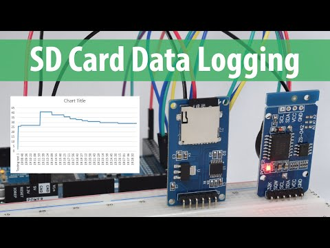 Arduino SD Card and Data Logging to Excel Tutorial - YouTube