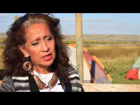 #WaterIsLife - Standing Rock Sioux Protest Against Dakota Access Pipeline