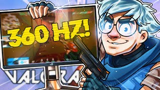 POPPING OFF ON M¥ *NEW* 360Hz MONITOR !!! | C9 TenZ