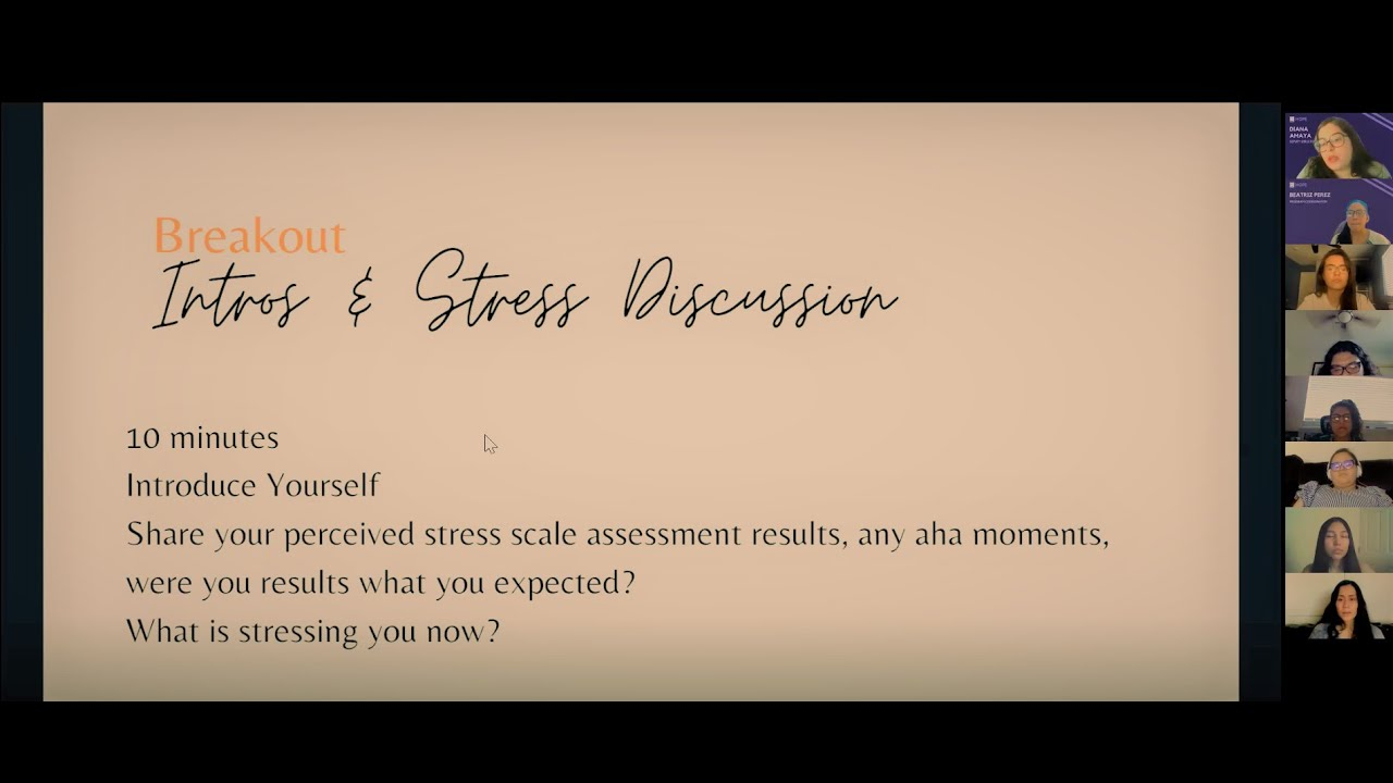 Time and Stress Management Webinar