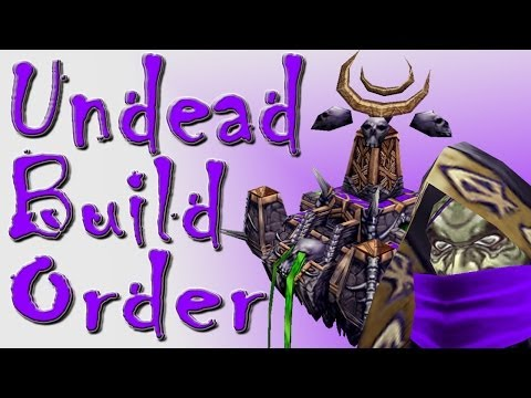 Warcraft 3 Undead Build Order Guide