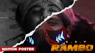 Motion Poster | Rambo | A KAY | Western Penduz | Releasing On 4th October 2019 | Speed Records