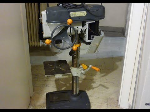 Drill Press restoration and upgrade part 5 - Quantum B160 T Vario