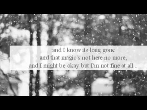 Jake Gyllenhaal And Taylor Swift   The Story Of A Break Up (lyrics)