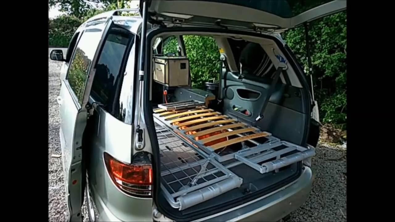 Van Life Toyota Stealth Camper Part 1 Build Youtube