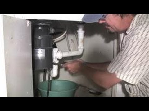 how to disconnect a kitchen sink kitchen plumbing how to remove blockage from your 8632