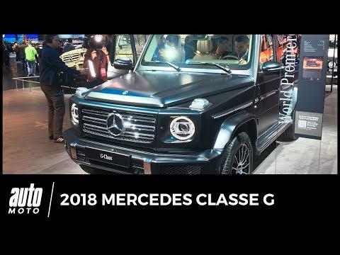 2018 Mercedes Classe G Revue de détail AUTO-MOTO.COM