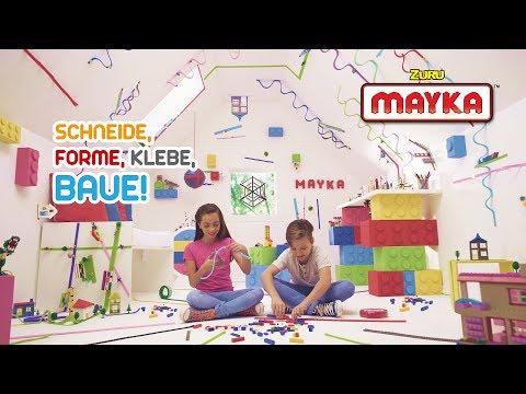 Video Das Mayka Bausteine Spielzeug Band – die coolste Erfindung Allerzeiten I Neues Spielzeug