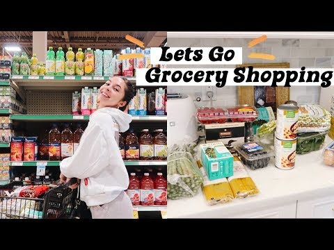 COME GROCERY SHOPPING WITH ME   Healthy Food Haul + Diet Staples