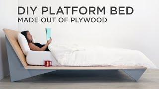 DIY Modern Platform Bed   Made…