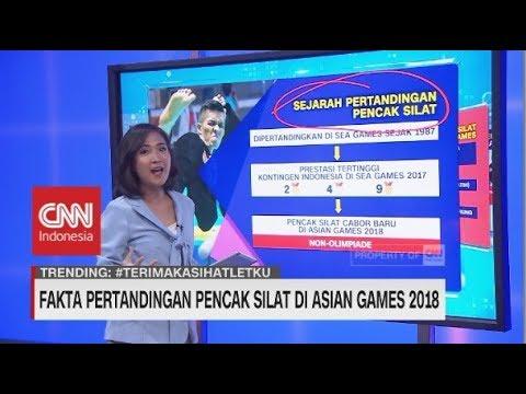 Fakta Unik Pencak Silat Di Asian Games 2018