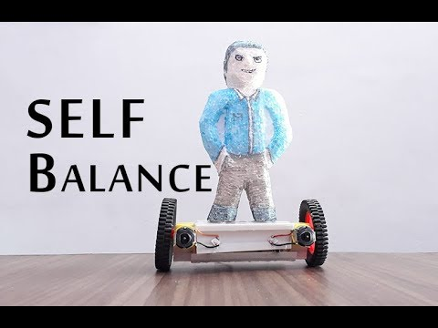 How To Make A Self Balance Hoverboard Scooter Toy