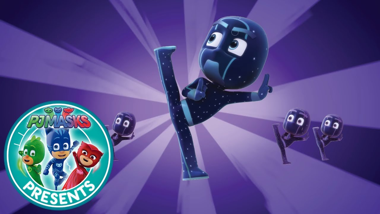 pj masks creations night ninja reveals cartoons for kids 44