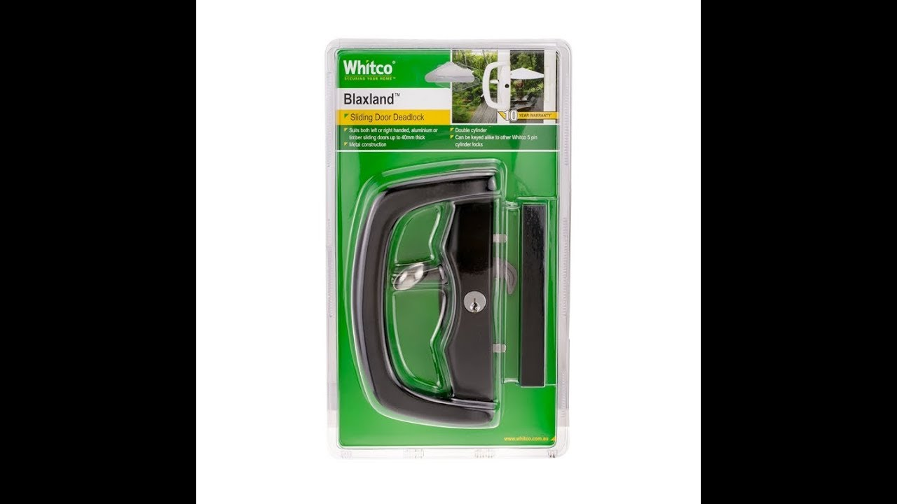 whitco blaxland sliding glass door lock