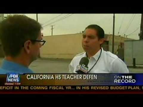 Interview with H.S teacher about controversary revolt.wmv