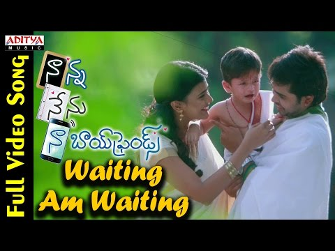Waiting Am Waiting Full Video Song || Naanna Nenu Naa Boyfriends Movie  || HebahPatel,Ashwin