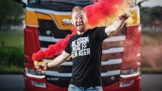 Met de Scania flaneren door België en afsluiten met de vlam in de pijp!