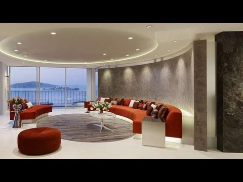 Cortinas modernas como decorar un living youtube - Como decorar un apartamento ...