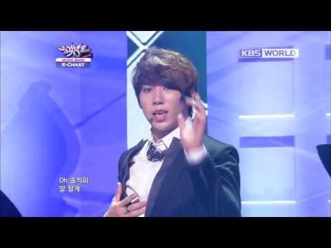 [Music Bank K-Chart] U-KISS - Stop Girl (2012.09.21)
