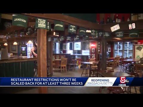 Boston Mayor To Address State's Reopening Plan