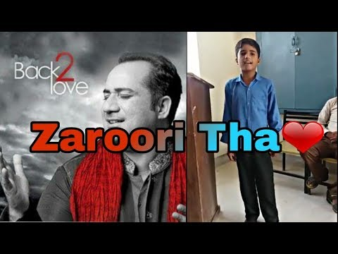 Pakistan Got Talent.Zaroori Tha Song(New Version) By A Pakistani Kid.