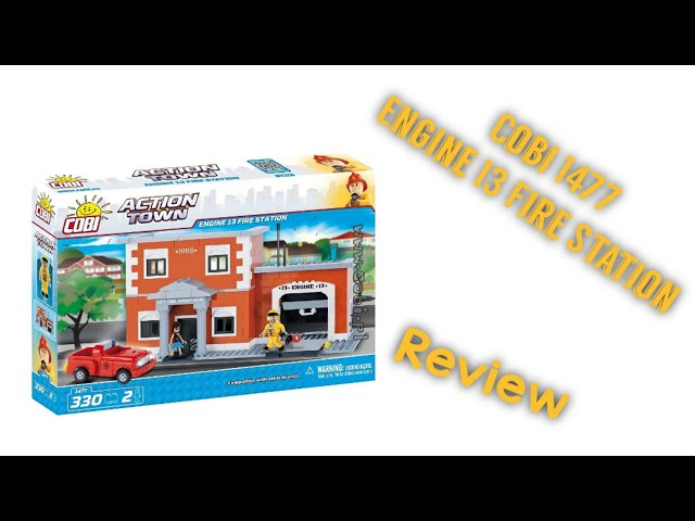 Cobi 1477 - (UPDATE) Engine 13 Fire Station / Review [German]