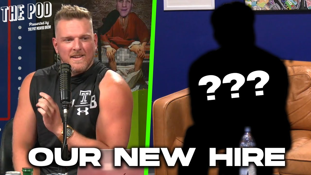 Pat McAfee Inc. Has A New Employee...