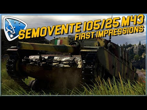 War Thunder: Semovente 105/25 M43 | First Impressions