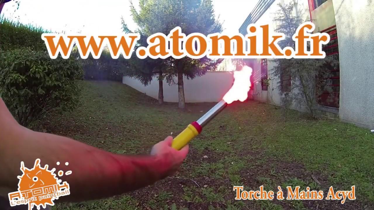 Acyd Torches /à Mains lumi/ères et fum/ée Boite de 4
