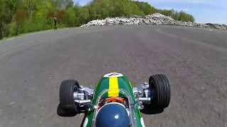 RC F1 ONBOARD CAMERA 70 LOTUS 25 Coventry Climax Jim Clark