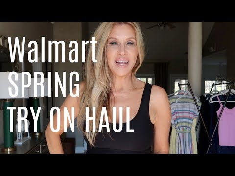 Walmart Spring Try On Haul!
