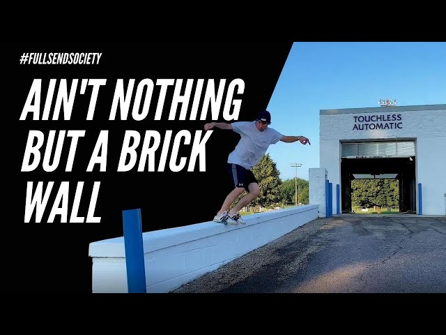 Ain't nothing but a Brick Wall | Skidz Grindplates