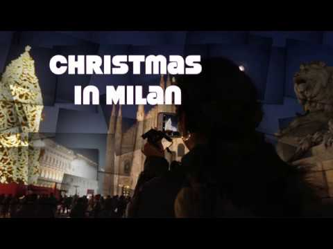 Milan Italy decorated for Christmas