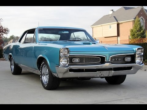 Pontiac Gto 2014 >> 1967 Pontiac GTO For Sale - YouTube