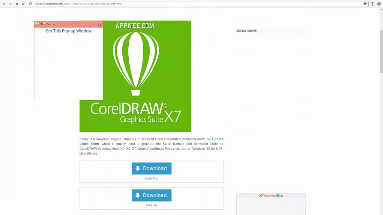 Corel Draw X7 X6 Crack 2015 Download Link Youtube