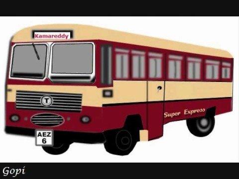 Telangana Bus Mimicry