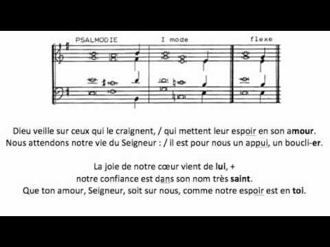 Psaume du Dimanche de la Sainte Trinité (Année B)