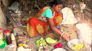 Rural Women Cooking ll Delicious Healthy Lunch Special  Cabbage Curry  ll Indian Village Food