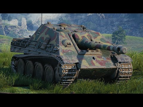 World of Tanks Jagdpanther - 9 Kills 5,1K Damage (1 VS 8) thumbnail