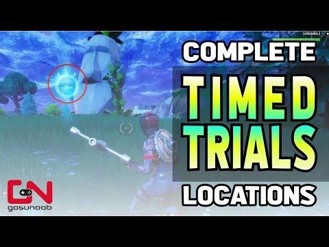 Fortnite Complete Timed Trials