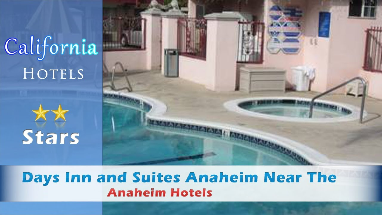 Days Inn and Suites Anaheim Near The Park, Anaheim Hotels ...