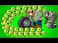 Plants Vs. Zombies 2 Threepeater Challenges Max Level