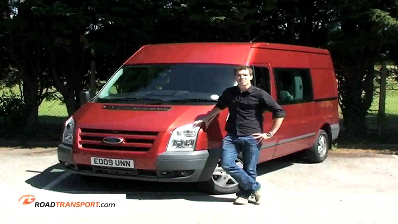 ford transit 2 2 litre tdci 280 crew cab road test youtube. Black Bedroom Furniture Sets. Home Design Ideas