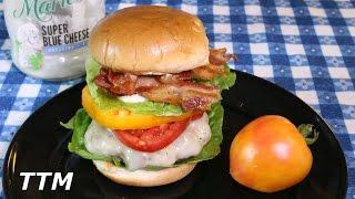 Fresh Heirloom Tomato Cheeseburger Bacon Burger Bacon, Lettuce and Tomato Cheeseburger